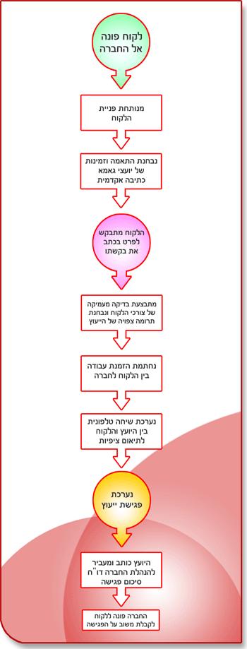 תהליך הייעוץ וההנחייה בפגישה חד פעמית